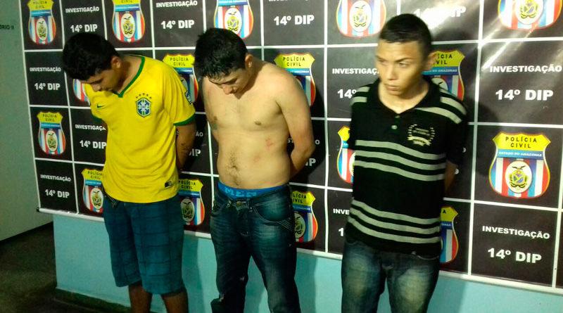 Polícia prende trio acusado de fazer arrastão na Zona Leste