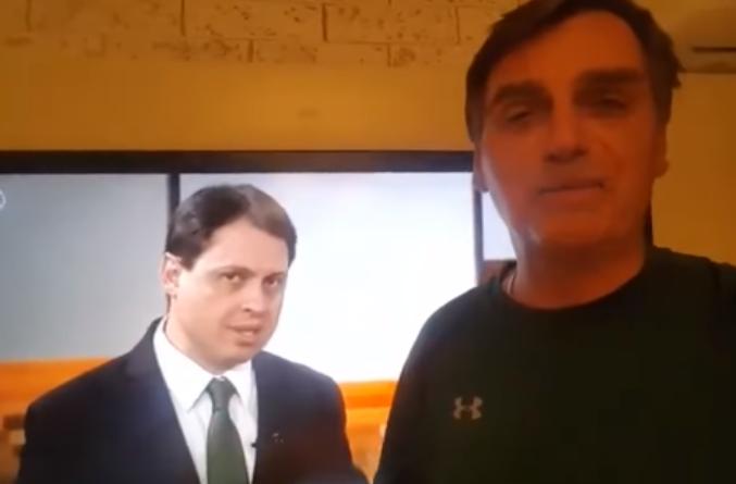 Bolsonaro critica intervenção militar no Rio; assista