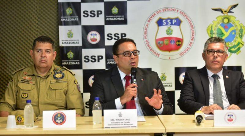 Governo do Amazonas anuncia promoção de 1,9 mil policiais militares e bombeiros