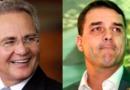 Em apoio ao governo, Renan Calheiros sai em defesa de Flávio Bolsonaro
