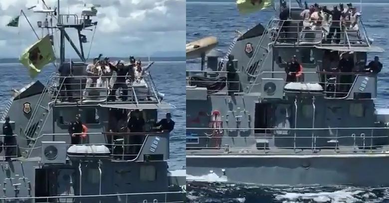 Militares dançam 'Jenifer', e Marinha diz que comportamento é 'inadmissível'