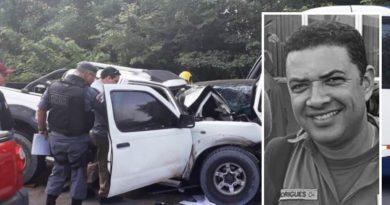 Sargento da PM morre em acidente de trânsito, na rodovia AM-010