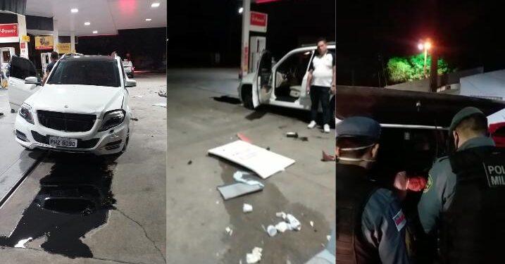 Vídeo: irmão do Coronel Walter Cruz é preso por embriaguez ao volante, desacato e ameaça a PMs